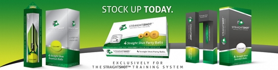 StraightShot™ Golf Ball Packaging